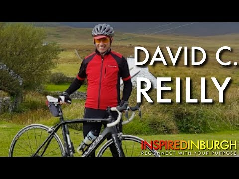 David C. Reilly - Thriving With Cerebral Palsy | Inspired Edinburgh