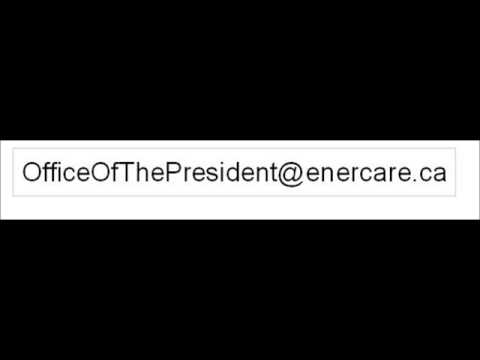 How to Contact Office of the President Enercare Canada