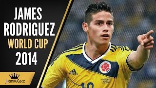 James Rodriguez | World Cup 2014 | Golden Boot | ᴴᴰ