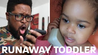 Interview With A Runaway Toddler