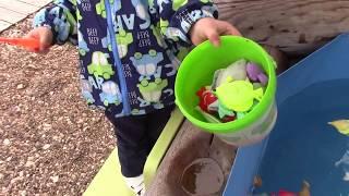 Детская игра рыбалка на магнитах. Аттракцион