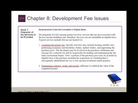 Understanding IRC §42  IRS Audit Technique Guide For Low Income Housing Tax Credit SD Clip15