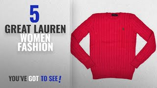 Lauren Women Fashion [2018 Best Sellers]: Ralph Lauren Women