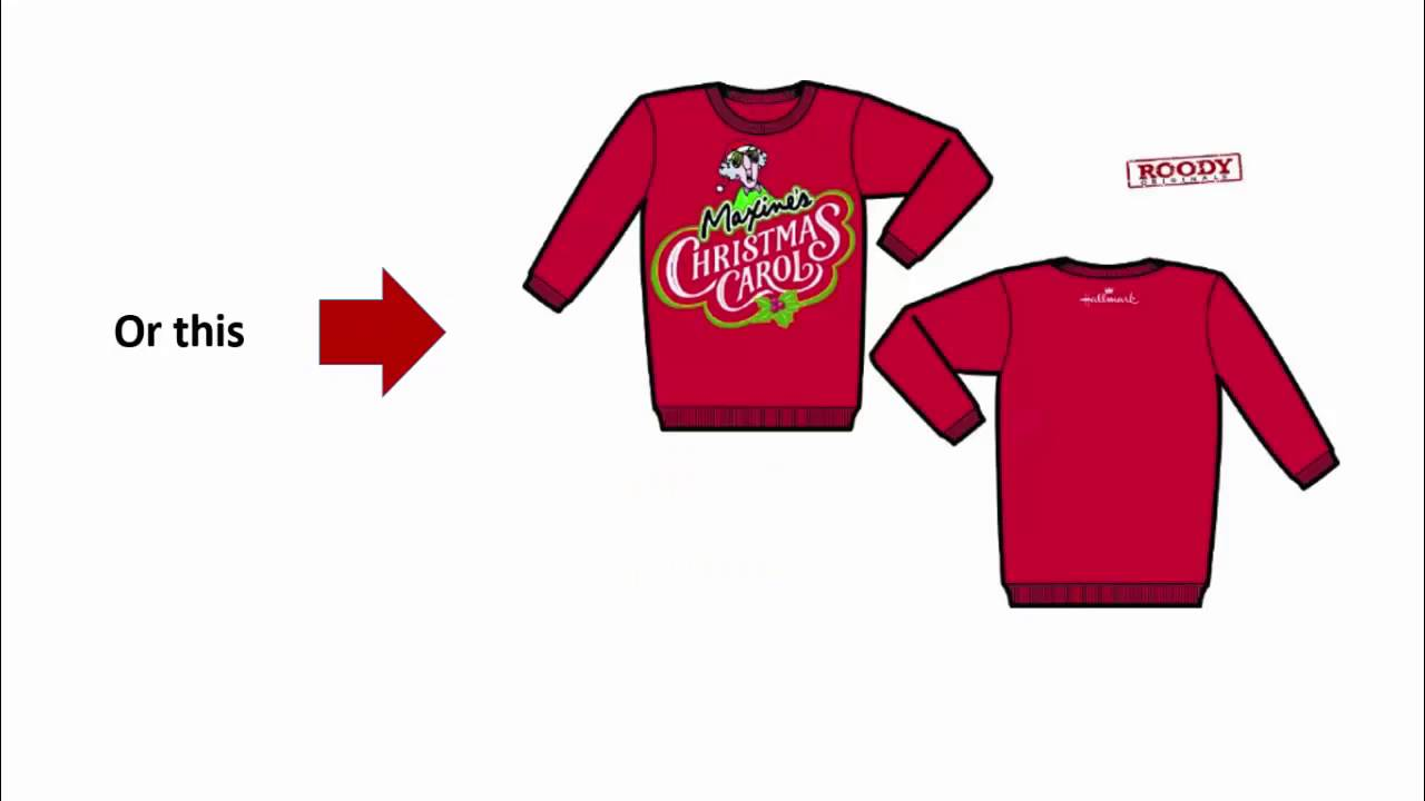 Roody Originals Custom Ugly Sweaters YouTube