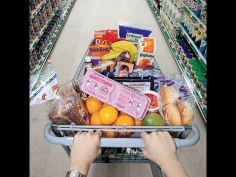 США. Супермаркет, цены