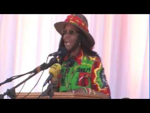 President Mugabe in Lupane Rally