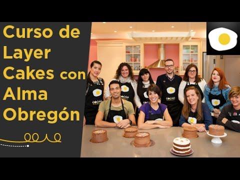 Curso layer cakes con alma obreg n reportaje canal for Canal cocina alma obregon