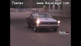 1965 Pontiac GTO Drag Racing Racelegal.com 4-18-2014