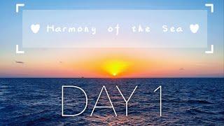 HARMONY OF THE SEAS CRUISE 2018 | DAY 1 VLOG