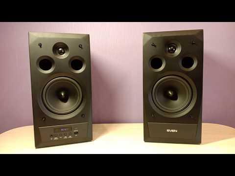Обзор Sven MC-20 мощная мультимедийная акустическая система 2 X 45 Вт  C Bluetooth/SD/USB
