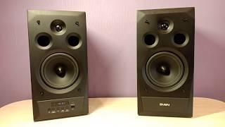 колонки Sven MC 20 / Обзор / Мощная Hi-Fi Акустика 2.0 с Bluetooth
