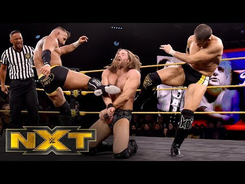 Undisputed ERA vs. Grizzled Young Veterans – Dusty Rhodes Classic Semifinal: WWE NXT, Jan. 22, 2020
