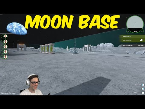 Moon Base Flipper (House Flipper)
