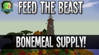 Feed The Beast: Bonemeal Supply! (EP28)