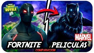 SO THE SKINS OF FORTNITE SUPERHEROES ARE SOLD IN SUPERHERO PELICULAS!! Battle Royale