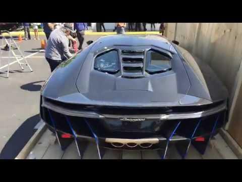 #1 Lamborghini Centenario in the USA has arrived    Lamborghini Newport Beach 1527692270608025