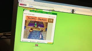 Old VeggieTales Web Game Walkthrough (Part 1)