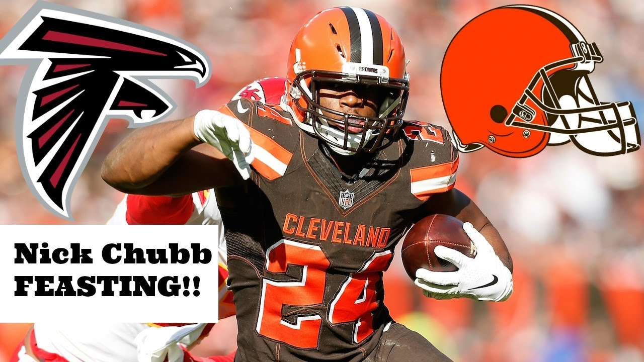 2b71f6590 Browns defeat the Falcons 28 - 16