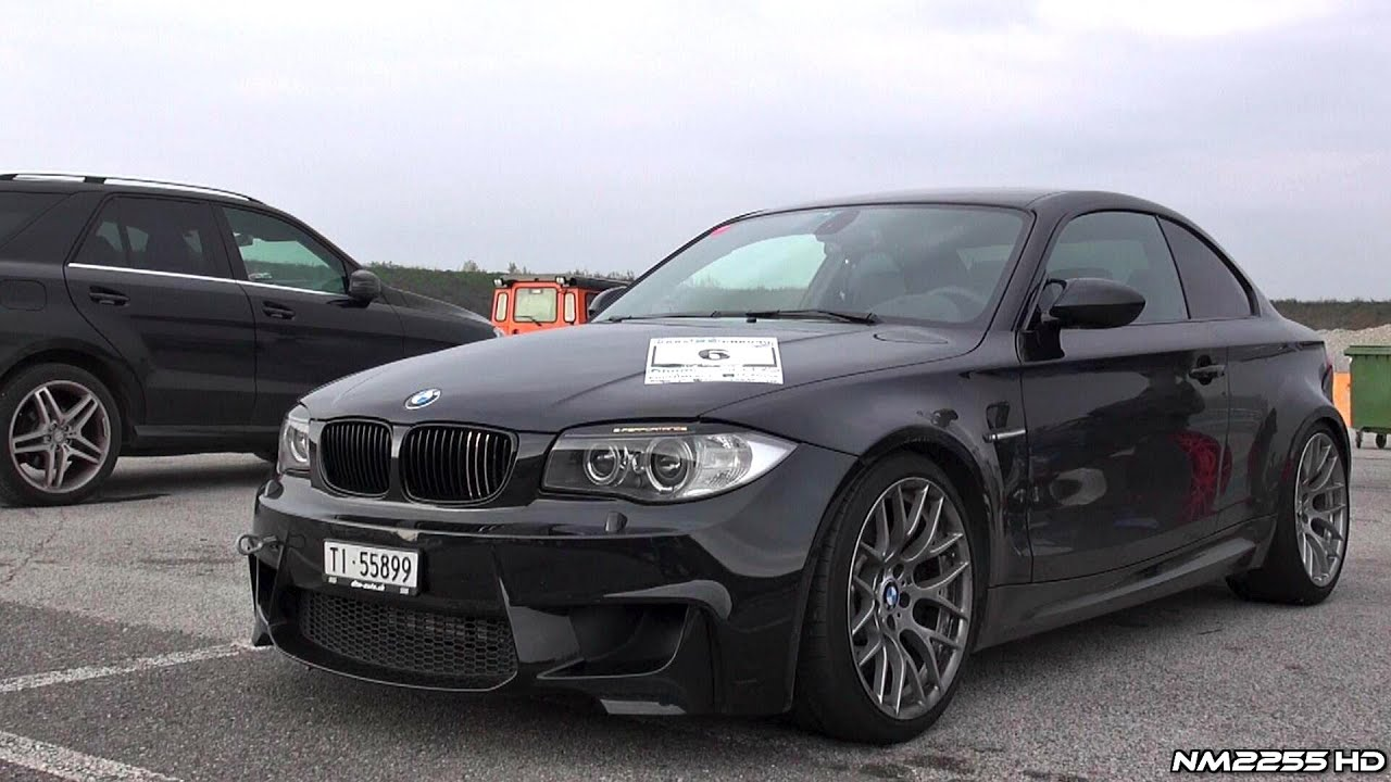 Driving The Bmw 1m Coupe With Milltek On Track Youtube