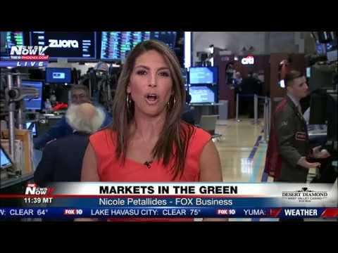 STOCK MARKET Roaring Back - FOX Business Nicole Petallides (FNN)