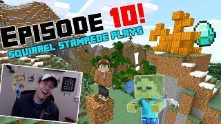 Squirrel Stampede Plays Minecraft Episode 10: Finding Diamonds?