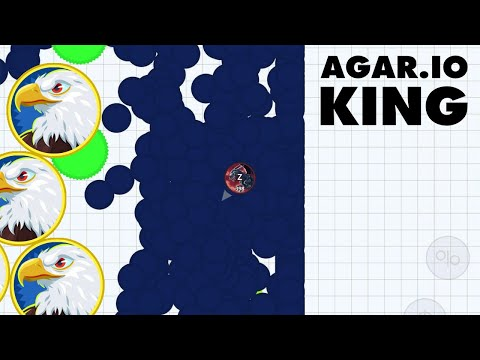 I OWN THIS GAME! (Agar.io Mobile Gameplay) |
