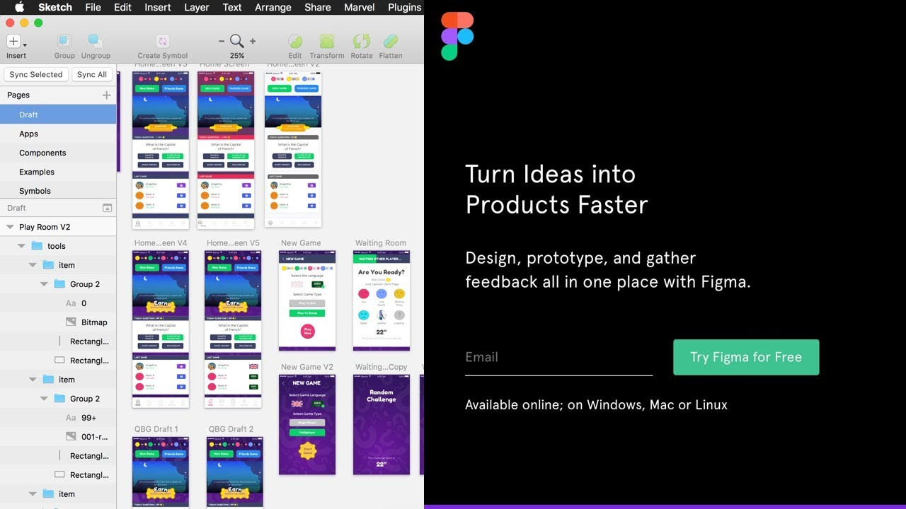 Pros and Cons: Figma vs Sketch