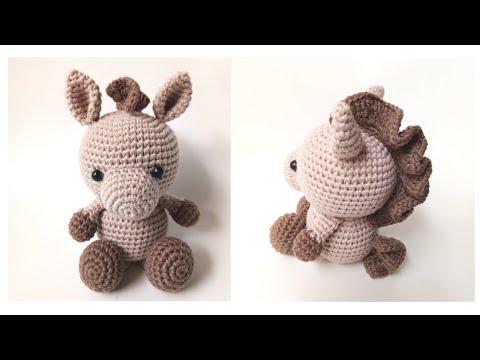 Farm Horse crochet pattern - Amigurumi Today | 360x480