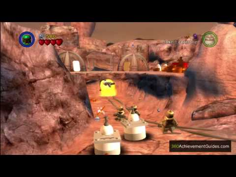 LEGO Star Wars: TCS - Power Brick Guide - Episode IV: Through The Jundland Wastes