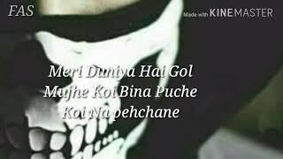 WhatsApp status (FSA) becheni. Meri Duniya Hai Gol song