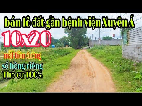 Bán đất Củ Chi Giá Rẻ 10x20 sổ hồng riêng thổ cư 100%