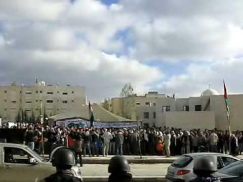 Jordanians Protest Near Israeli Embassy In Amman