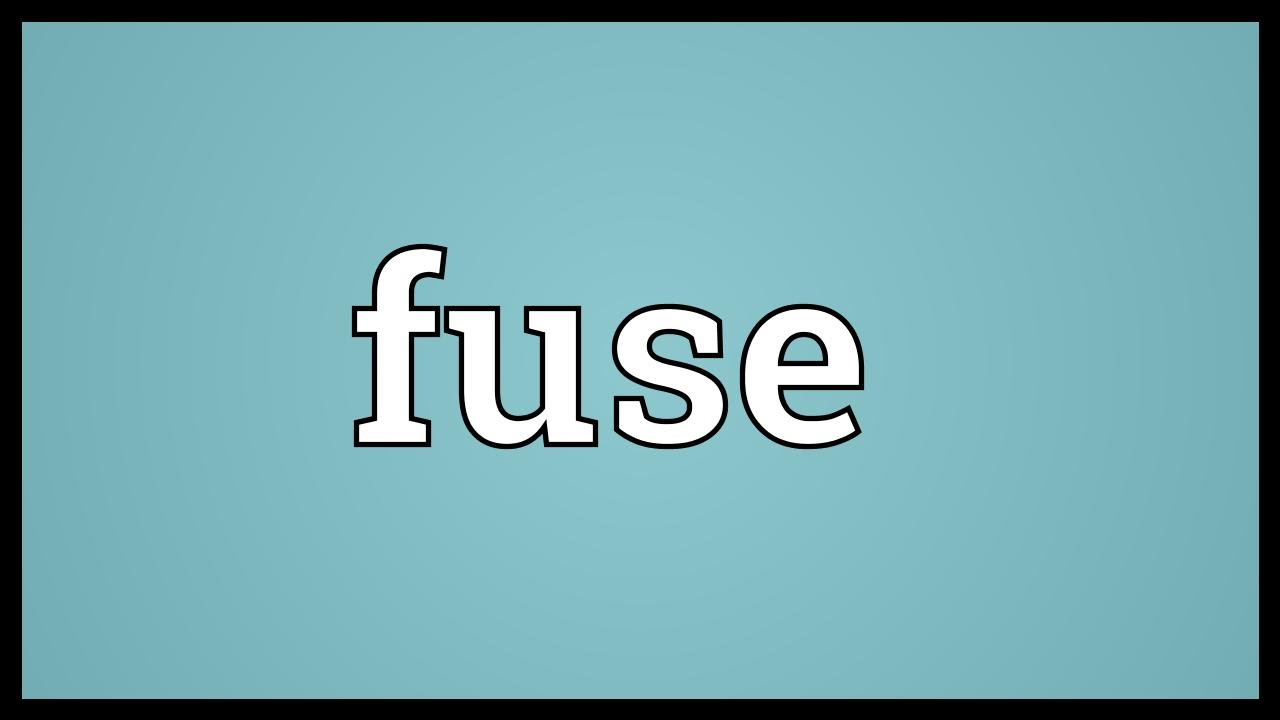 small resolution of fuse meaning youtubefuse box abbreviation definitions 8