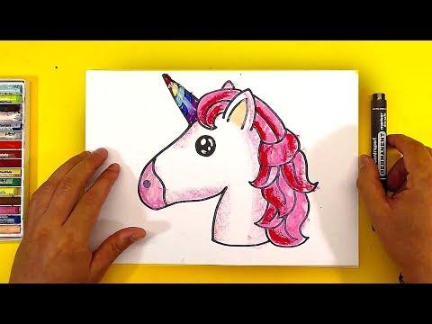 Как нарисовать единорога пошагово