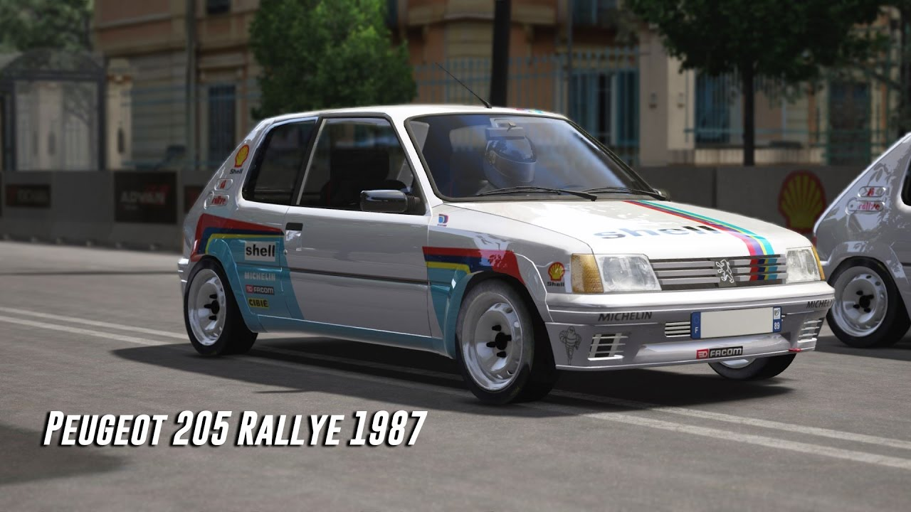 peugeot 205 rallye 1987 assetto corsa download car gameplay youtube. Black Bedroom Furniture Sets. Home Design Ideas