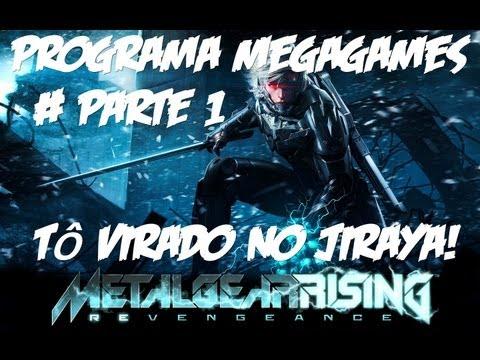 METAL GEAR RISING: REVENGEANCE - #PARTE1 - TÔ VIRADO NO JIRAYA!
