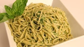 Linguine With Pesto Recipe - Laura Vitale - Laura In The Kitchen Episode 346