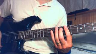 Ozzy / Jake E. Lee  - The Ultimate Sin - Guitar solo lesson