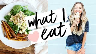 WHAT I EAT IN A DAY | Healthy, Easy, & Balanced!