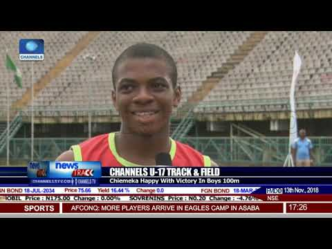 Channels U-17 Track & Field: Chiemeka Wants To Break Bolt's Record
