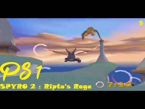 Walkthrough - PS1 - SPYRO 2 - Ripto's Rage - Ocean Speedway # Part 9