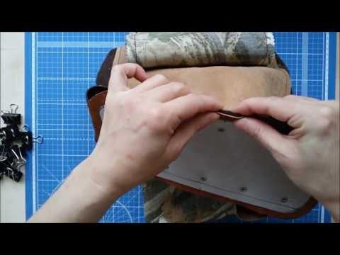 Шьем рюкзачок из натуральной кожи 3