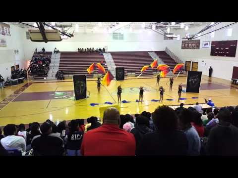 """1st Place Ballou Flags """"ROYAL TWIST"""" @ Kings fork Competition 2016"""