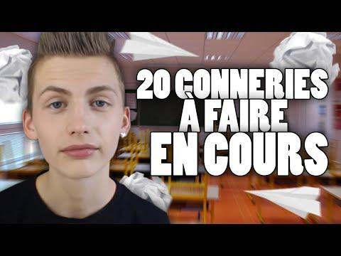20 CONNERIES À FAIRE EN COURS - TIM