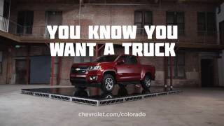 Phillips Chevrolet - You Know You Want A Truck – 2015 Colorado -  Chicago New Car Dealership