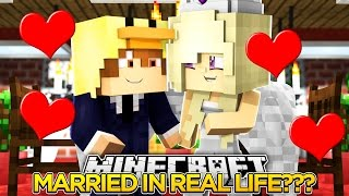 BABY LEAH AND BABY DUCK ARE GETTING MARRIED IN REAL LIFE???- Minecraft Roleplay!