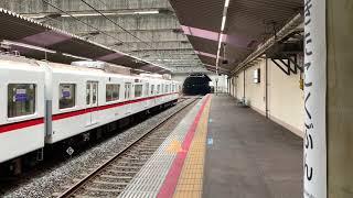 北総線北国分駅にて 浅草線5300形発車
