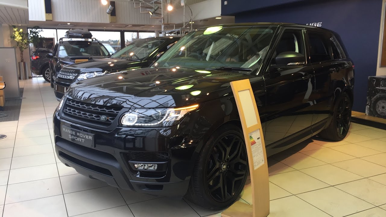 2017 Range Rover Sport Black Edition - Exterior and ...