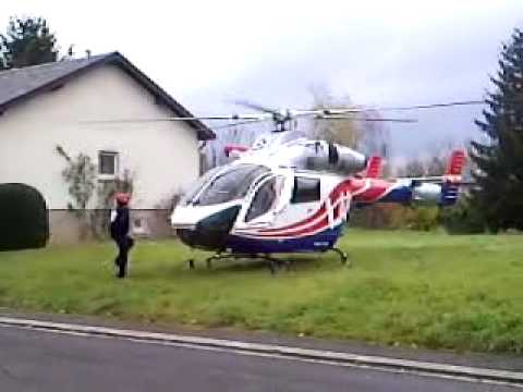 Luxembourg Air Rescue-Take off MD 900 explorer