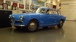 1957 Alfa Romeo Giulietta Sprint Veloce Alleggerita & Engine Sound - My Car Story with Lou Costabile